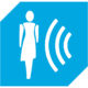 BLUE proximity sensor icon large