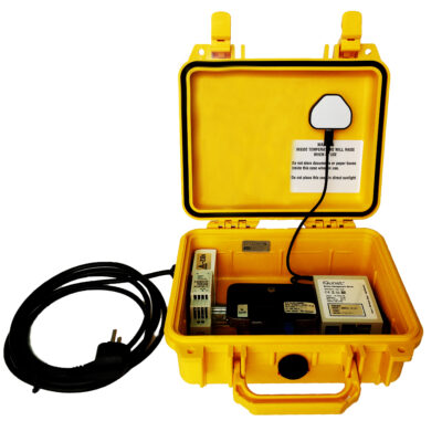 Industrial Case with iQunet Server kit incl. WIFI/LTE (opened)