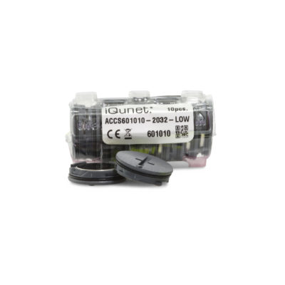 10 pcs Batteries Replacement/Low Holder
