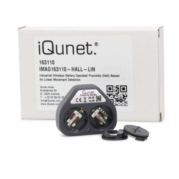 Wireless Battery-Operated Linear Movement Detector