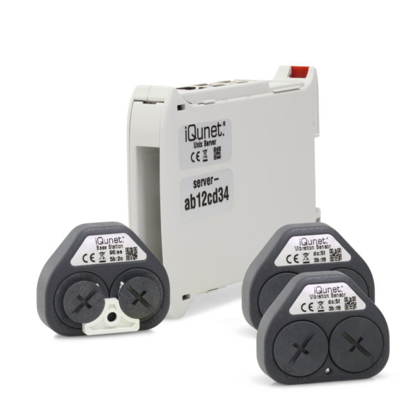 iQunet starter pack vibration monitoring
