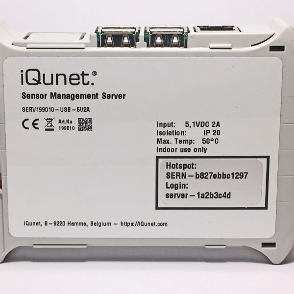 New Generation Industrial 5.1V Powered iQunet Server