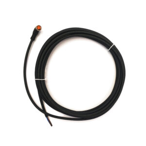 5m Sensor Supply Cable with M8 Connector