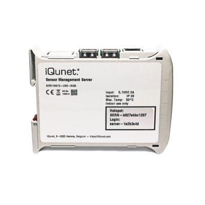 New Generation Industrial 5.1V Powered iQunet Server (front)