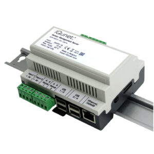 New Generation Industrial 24V Powered iQunet Server